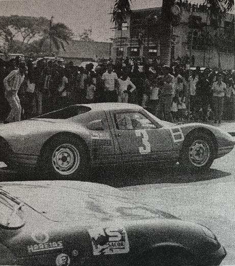 Arranque Porsche vs Lotius